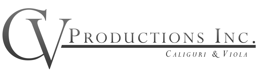 CV productions logo