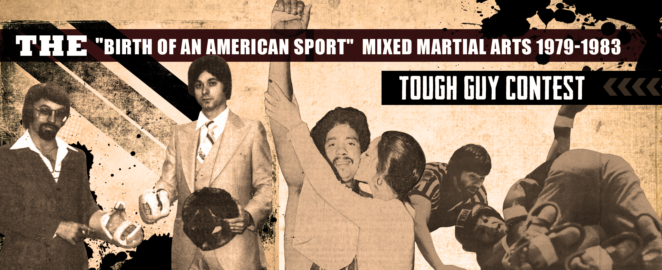tough guy contest banner