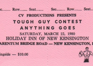 tough guy ticket
